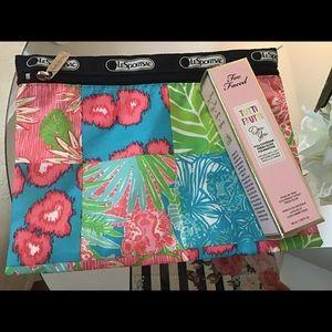 Cute bundle too face makeup sport sac bag